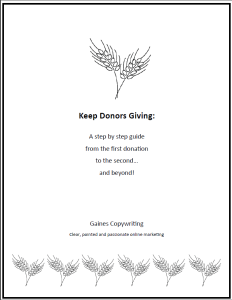 Four Steps to Continuous Online Donations Cover